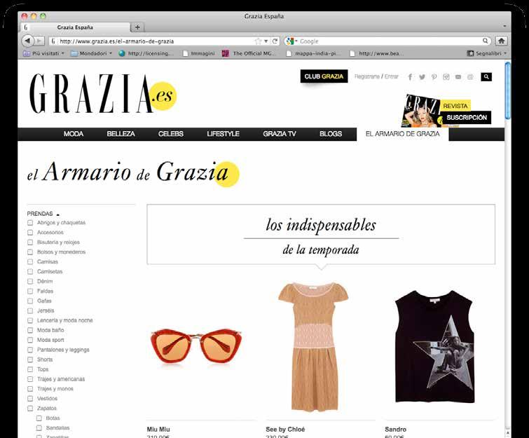 multiple media. www.grazia.