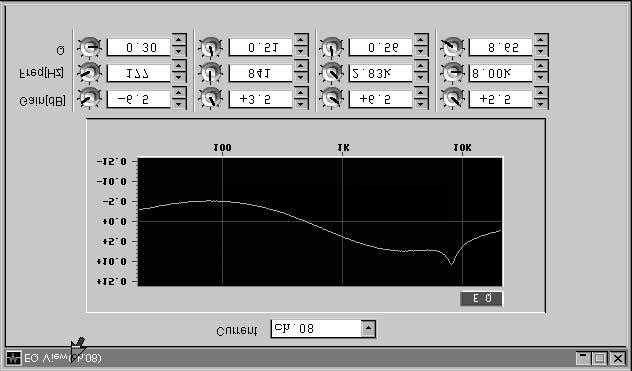 EQ and dynamics libraries are extremely useful for storing commonly used curves. For instance, a record could be kept for the curve on the lead vocal, or the bass.