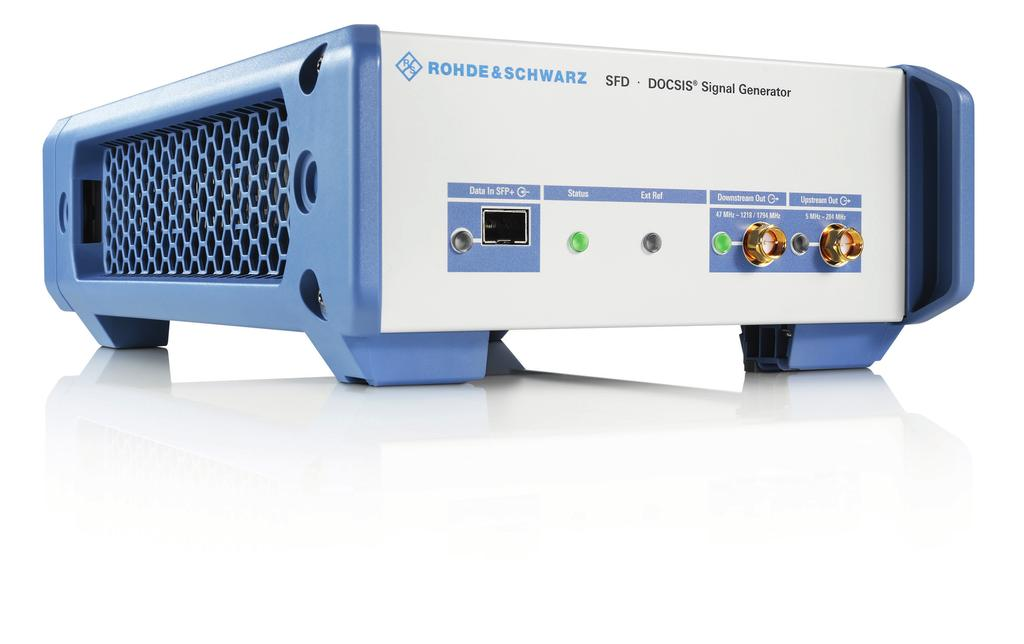 R&S SFD DOCSIS Signal Generator Signal generator for DOCSIS 3.