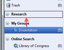 that makes sense to you, and makes sense to your work. Groups To create a group go to Groups >> Create Group.