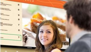 Digital Signage Menu Boards Digital menu boards provide content from your cafeteria s food service provider.