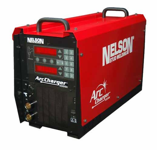 N550c Arc Charger Breakthrough Charger design provides powerful 550A Arc Welder from 120V wall outlet!