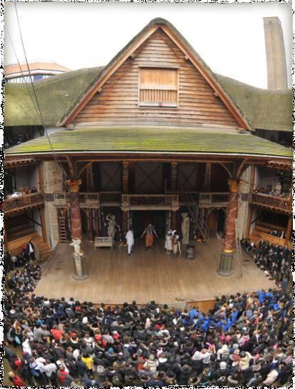 The Globe Theater Had a 1500 + audience capacity. No heating.