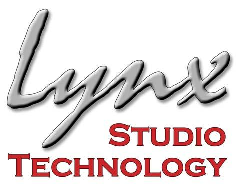 Technology Inc. www.lynxstudio.com support@lynxstudio.