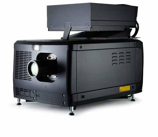 BLP series 2K & 4K high-brightness Smart Laser projectors Designed for large to mid-size movie screens (13-27 m / 43-89 ft wide), the BLP Smart Laser projector series comprises 4K and 2K projectors