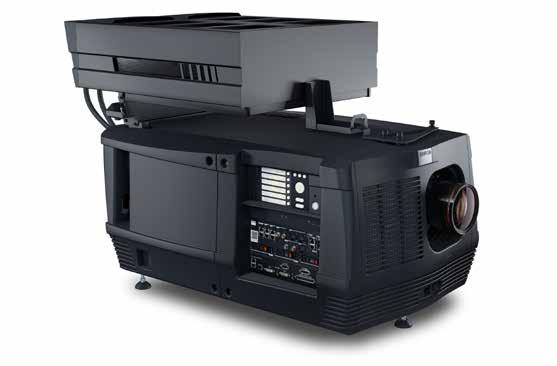 CLP series Award-winning Smart Laser cinema projectors The compact CLP projectors are a perfect match for mid-size movie screens (13-19 m / 43-62 ft wide).