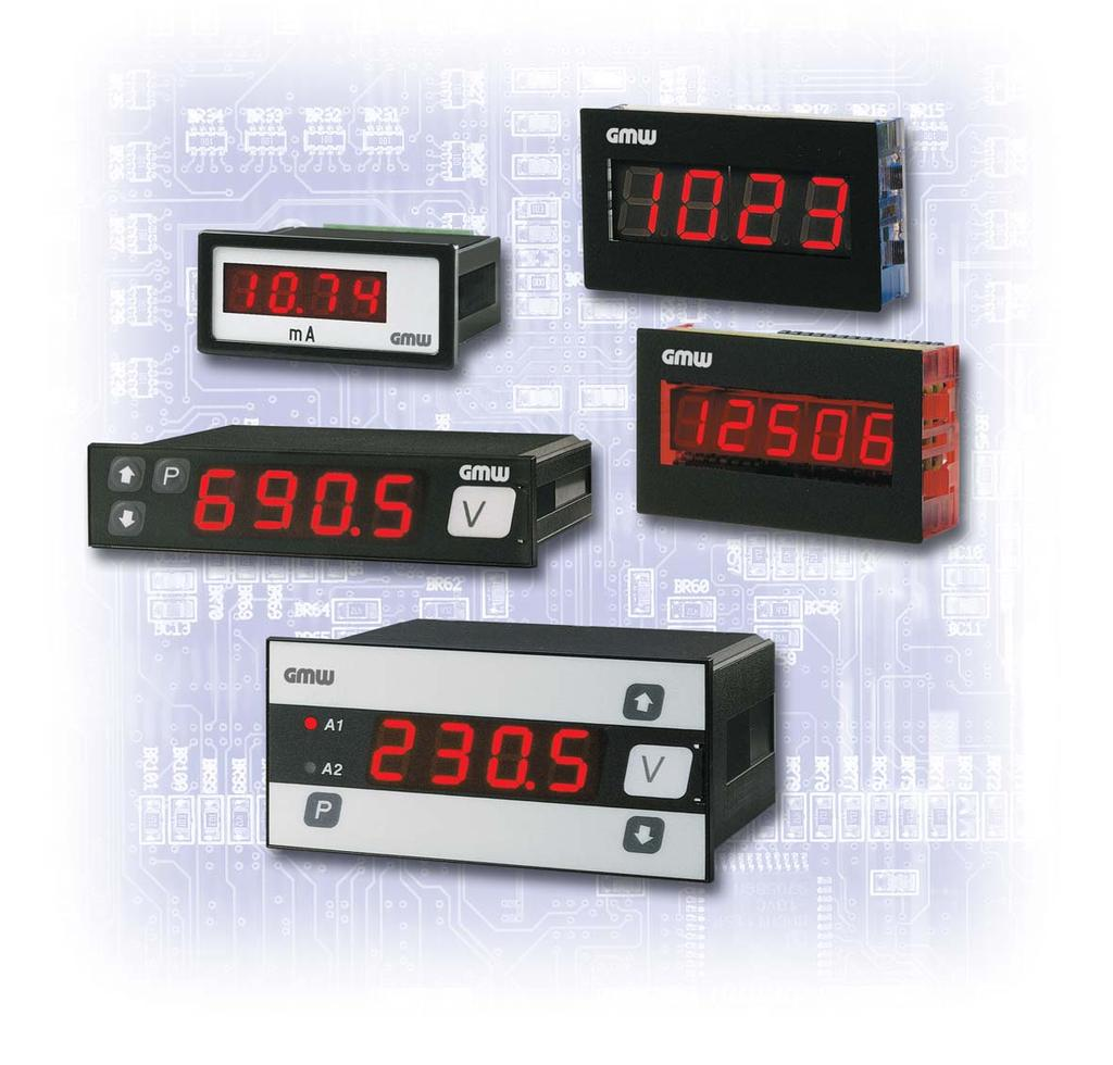 Electronic Panel Meters DIGEM Preference Program Process control,