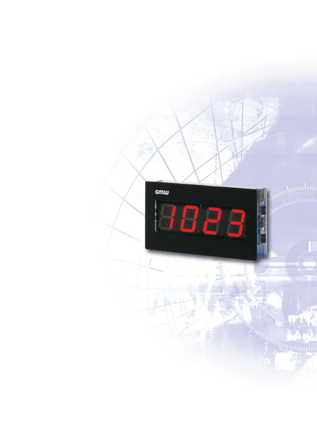 DIGEM 62 x 38 A5 3.5 Place Digital Indicator with LED or LCD A1155 range: ± 1 999 Minimal installation depth of only 26.