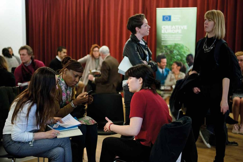 GET IN TOUCH Creative Europe Desk UK offers free advice and support to UK applicants and organises a range of workshops, seminars and industry events throughout the year.