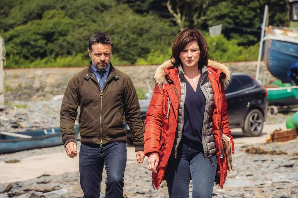 8 The third series of Welsh crime drama Hinterland/YGwyll has been sold to more than 30 countries and is available on Netflix worldwide.