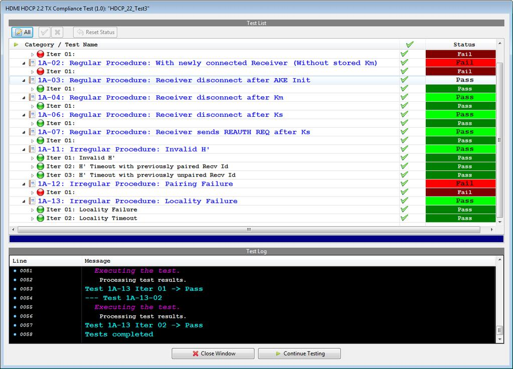 980 HDMI 2.0 Protocol Analyzer UHDA Source Compliance HDCP 2.