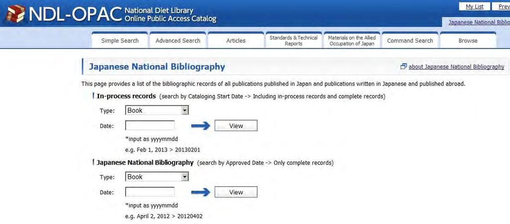 to use downloaded files. NDL Bibliographic Data Newsletter No.4, 2013 (Sequential serial number 27) http://dl.ndl.go.jp/view/download/digidepo_8379163_po_2013_4.pdf?