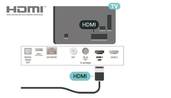 With the HDMI ARC connection, you do not need to connect the extra audio cable that sends the sound of the TV picture to the HTS.