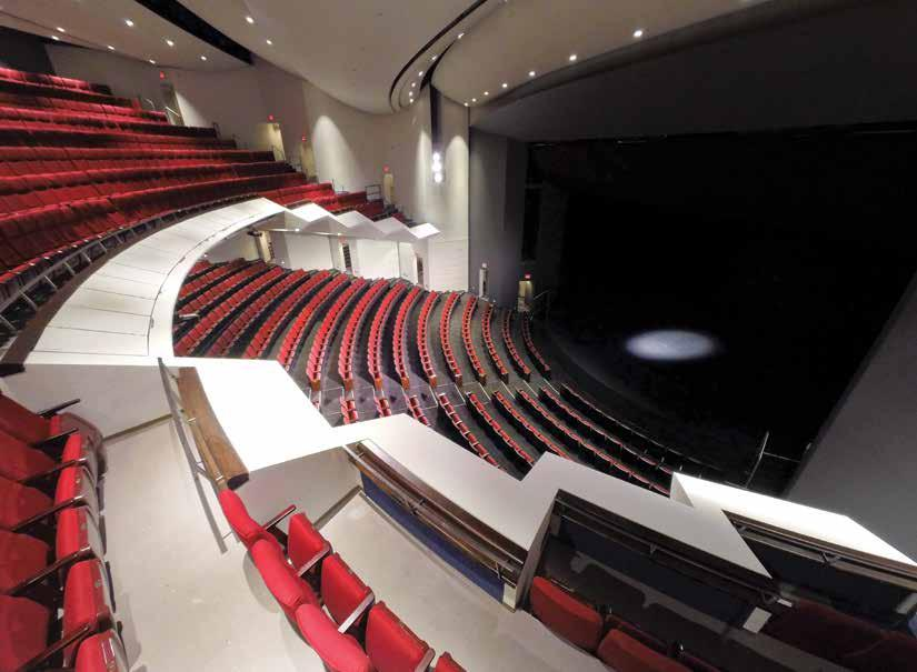 Technical Guidelines JOHN W.H. BASSETT THEATRE A. SEATING 1,3 seats individually numbered: 714 Orchestra Level, 6 folding / optional (Orchestra AA & BB), 49 Balcony Level.