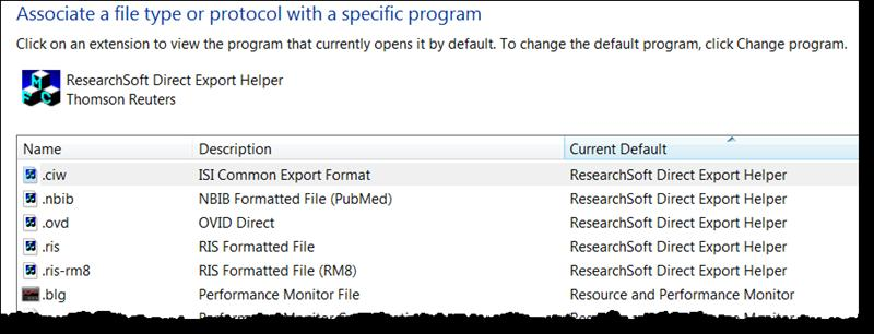 Export (the transfer of records from a database to the EndNote Library) is successful when marked records are spontaneously added and displayed in the Reference List panel of the EndNote Library.