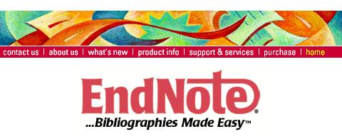 Using EndNote Web