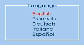 Selecting your preferred Language Follow the steps below to select one of the five languages: 1. Activate the OSD Main Menu. 2.