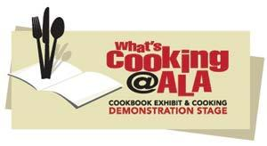 WHAT'S COOKING @ DEMONSTRATION STAGE MCP - Exhibit Hall, End of 4700 Aisle Chefs, authors and restaurant owners doing live cooking demonstrations and offering education to arouse