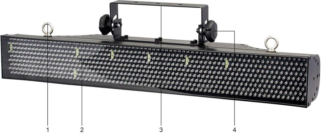 Description of the device Features The LED Pixel Track is a LED system from Showtec.