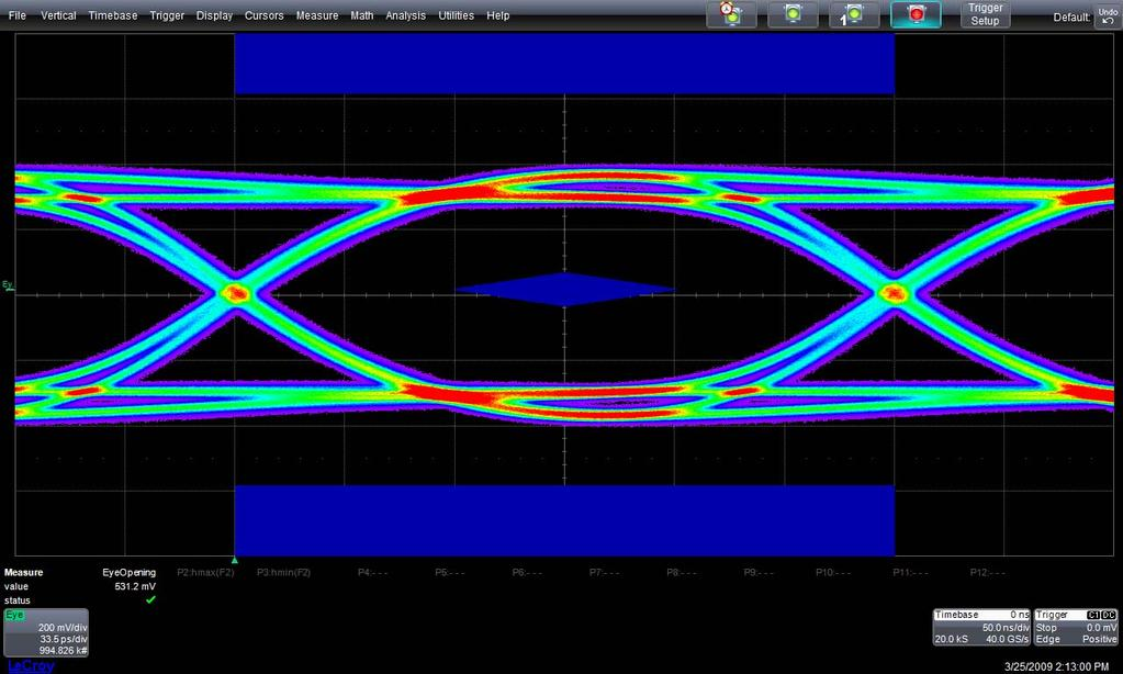 QPHY-USB3 Software Option QPHY-USB3 Test Descriptions Deskew This procedure measures the skew between the two oscilloscope channels used and sets the deskew value appropriately. Test 1.
