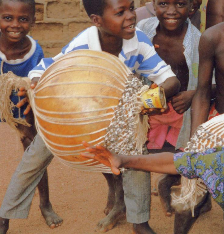 Children and Music Music is an important part of African children s games and daily life.