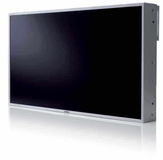 If compared to traditional ultra-thin plasma and/or LCD monitors, the LCD 40 NB monitor reduces the