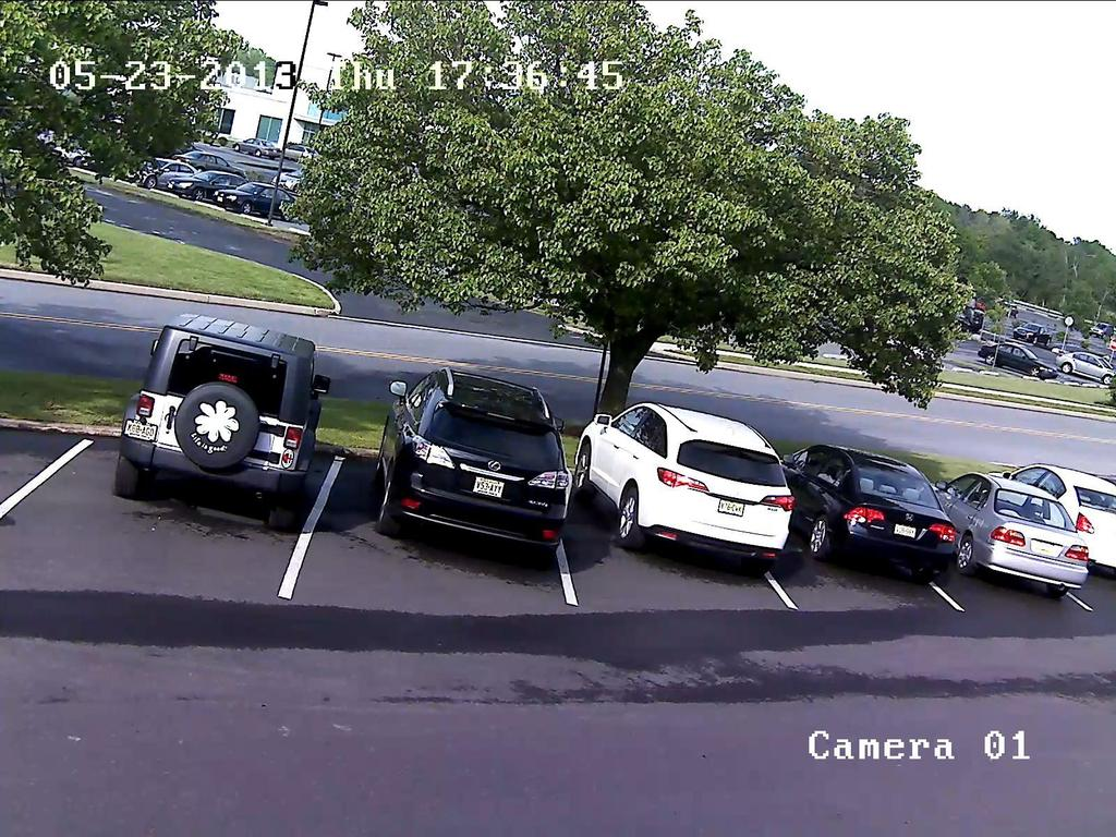 The image above was taken from a 2 megapixel IP camera