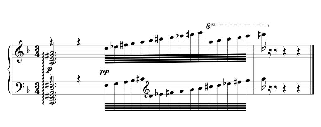 26 Example 1.8 Saint-Saëns, Piano Concert No 5, Op. 103, mvt 2, mm. 233 The exact same chord progression repeats between mm. 235-238.