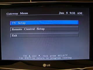Step Brief description of user action required 1 To activate DV on the main TV, press the wrench button