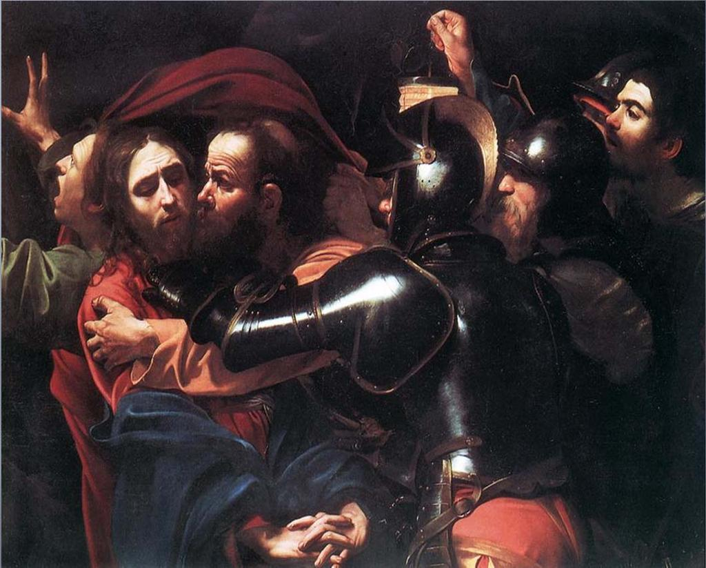 THE TAKING OF CHRIST (CARAVAGGIO) Conflict Chorus of soldiers coming to arrest