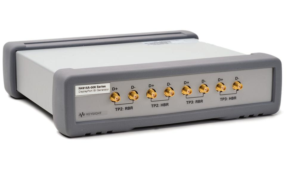 13 Keysight HDMI and DisplayPort Design and Test A Better Way - Application Note E4887A HDMI TMDS Generator The Keysight E4887A HDMI TMDS Signal Generator provides parallel signals with low intrinsic