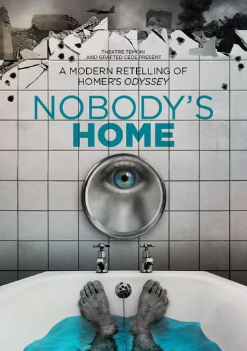 Theatre Temoin and Grafted Cede present NOBODY S HOME UK Tour 2015-16 Following the international success of The Fantasist, award winning physical company Theatre Temoin return with Grafted Cede in a