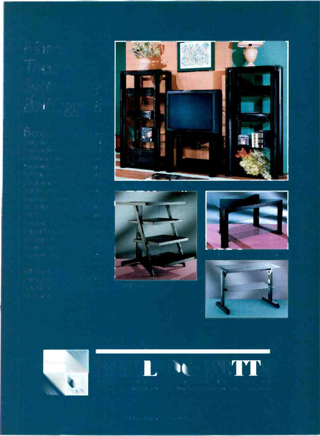 "Home Theater Systems by BeII'OggetLo Birc getti - the name mecns ""beaus. fig! objects"" - offers &he -inest i."