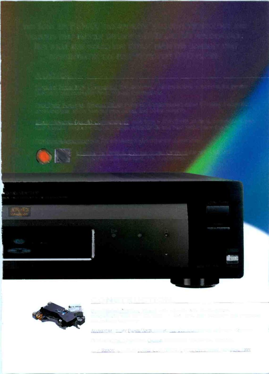 THE SONY DVP-S7000 INCORPORATES EXCLUSIVE TECHNOLOGY AND FEATURES THAT PROVIDE DEFINITIVE DVD AND CD PERFORMANCE.