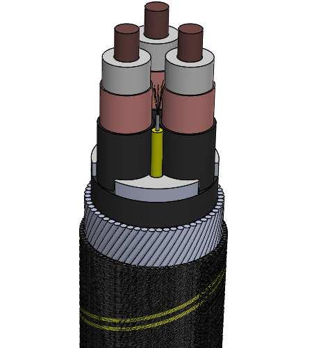 although deeper water (<2,000 metres) systems are a consideration. A transoceanic repeatered LW cable joint can be deployed to 8,000 metres with a resultant hyperbaric pressure in excess of 83MPa. 3.