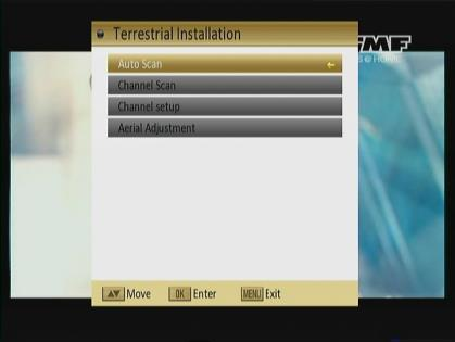 4. Installation When you enter to Installation menu, there will display the screen like right: In Installation menu; 1.