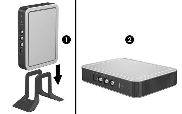 Identifying the Hardware TV Tuner Refer to the following sections for information on positioning the TV tuner and identifying TV tuner components.