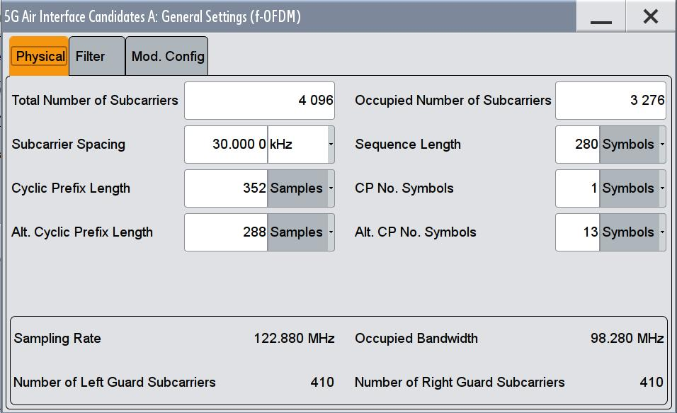 Signal Definition in SMW-K114 2 Signal Definition in SMW-K114 The SMW-K114 5G Candidate Waveforms option makes defining and generating a custom OFDM signal fast and simple.