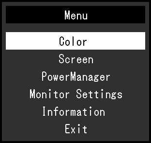 1-4. Basic Operations and Functions Basic operation of the Setting menu 1. Displaying the Setting menu 1. Press. The Setting menu appears. 2. Adjusting / Setting 1.