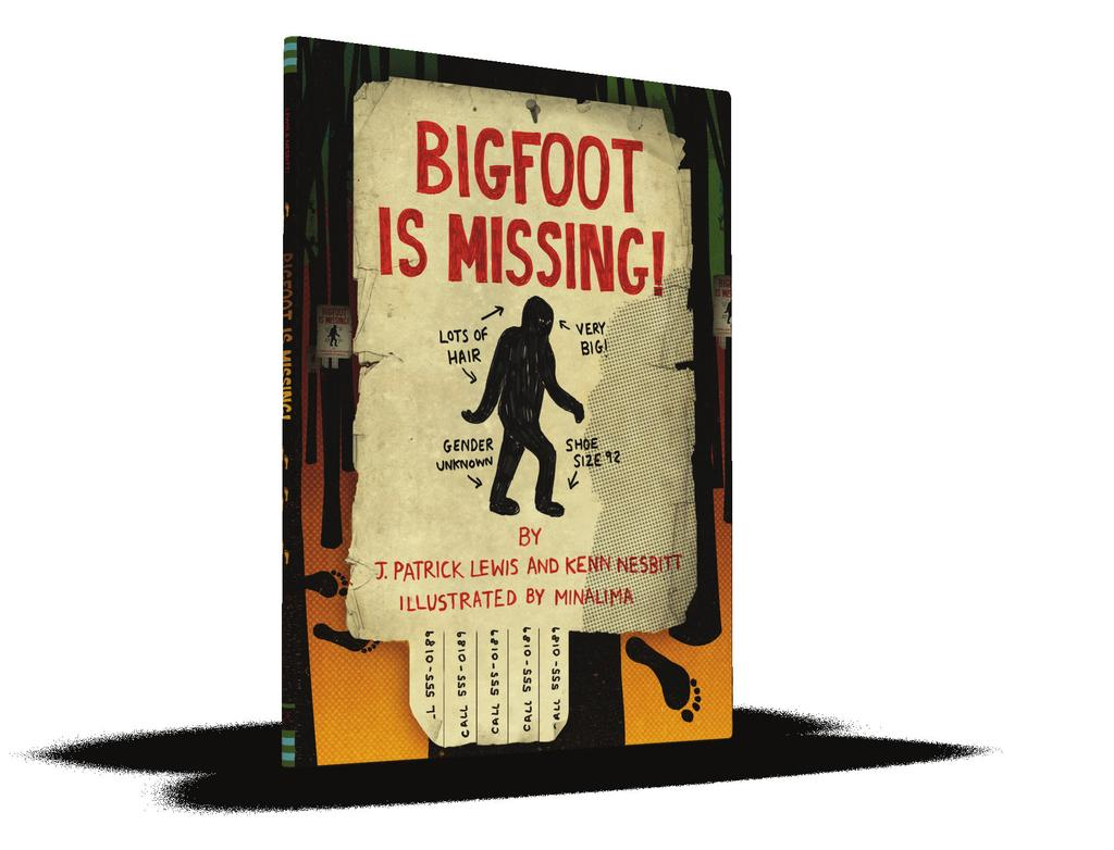 Poetry Picture Book TEACHER GUIDE A STRANGE PLACE TO CALL HOME WATER SINGS BLUE BIGFOOT IS MISSING!