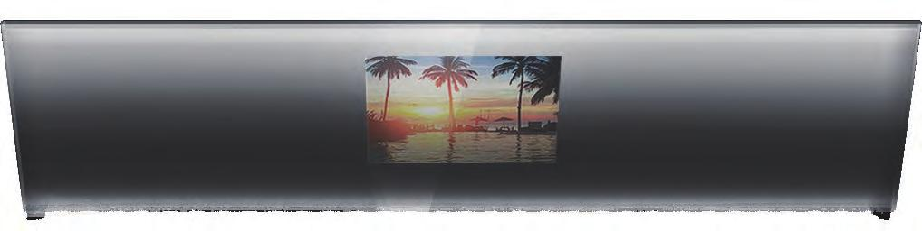 AVAILABLE IN Silver Mirror Tv vanishes completely when