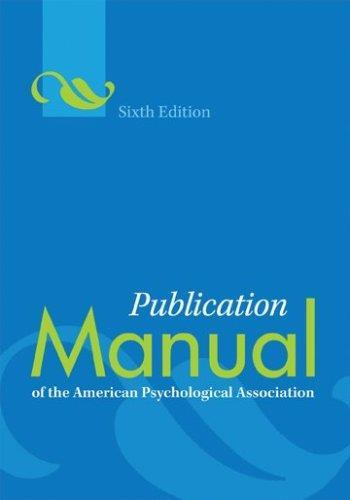 APA Style How to cite your sources & format your written work American Psychological Association Provides