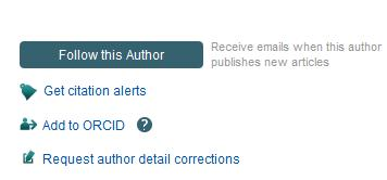 Scopus Author Profiles, the