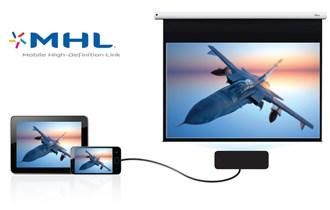 DH1009i Project bright vibrant presentations in Full HD 1080p effortlessly any time on day.