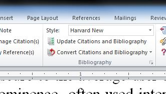 The items that appear in the brief list are selected back in EndNote by checking them off in the Output Style Manager under the edit tab. 2.