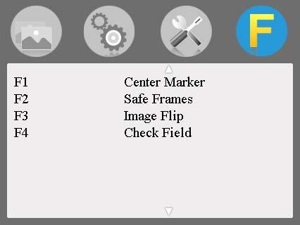 Check Field: To switch among Off, Mono, Red, Green, Blue. P2P: The display mode that made the resolution of the image consistent with display of the physical resolution.