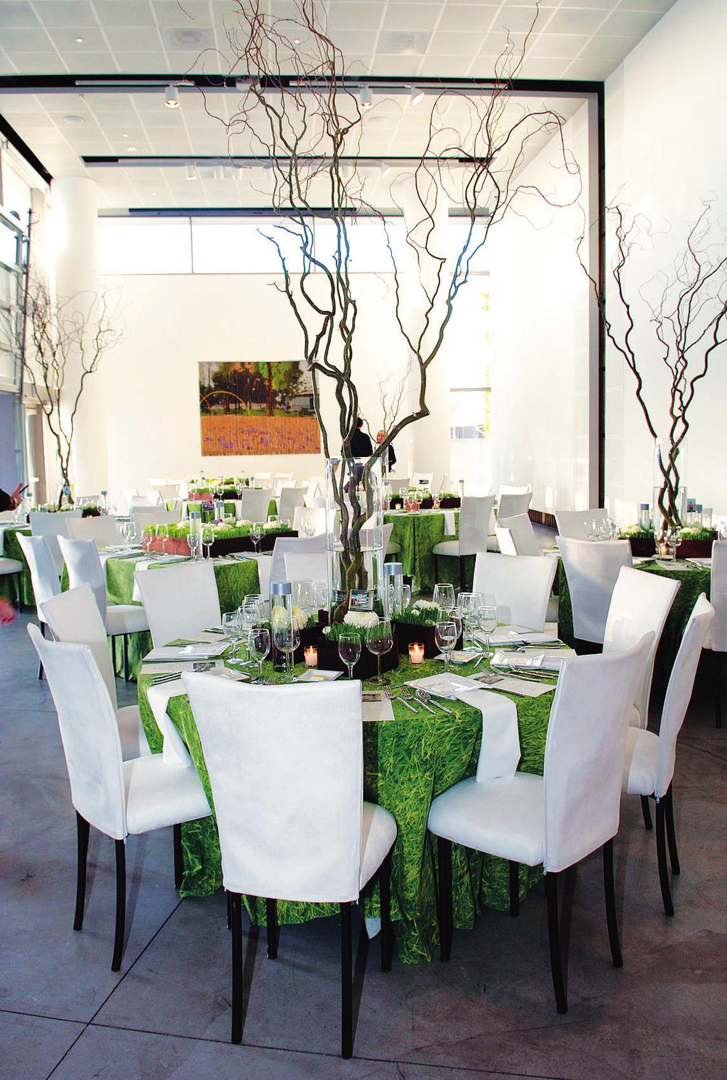 WEDDINGS AND SPECIAL EVENTS The Orange County Museum of Art provides a blank canvas