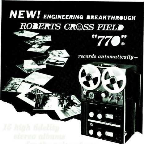 NEW ENGINEERING BREAKTHROUGH ROBERTS CROSS FIELD 770.
