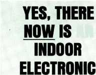YES, THERE NOW IS AN INDOOR ELECTRONIC,,. ; FM ANTENNA THAT DELIVERS WHAT OTHERS PROMISE!