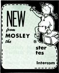 ( t 1 s I s NEW D` MOSLEY rice Scotch Master Switch Plates 1 I Avg, i Stereo, Hi-Fi & Intercom * Designed for Modern Living! * Styled for Lasting Beauty!